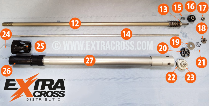 Motocross Shop - Extracross - WP original spare parts for WP