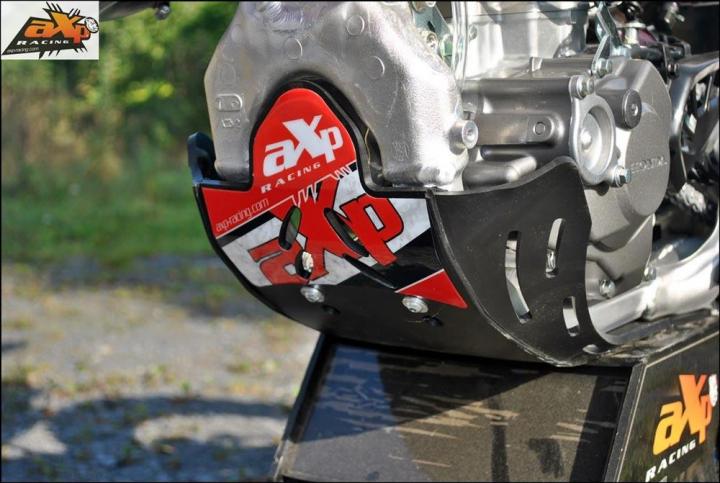 AXP Motorschutz Skid Plate Honda CRF450 09-16