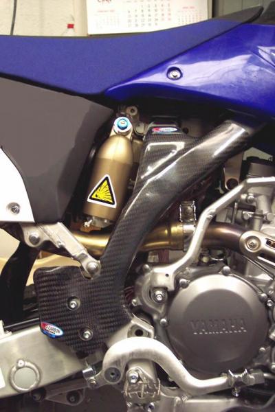 Carbon Rahmenschutz Factory Yamaha YZF 250 10-11