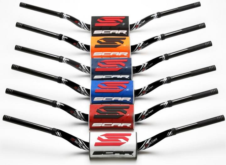 Scar Motocross Lenker O², wie Renthal 997, 28,6mm, Style RC / Honda CRF