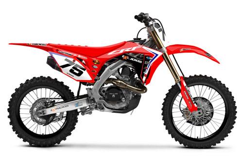 Extracross Dekor Honda - Backyard Design