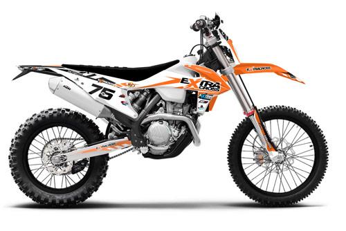 Extracross Dekor KTM 450 EXC- Backyard Design