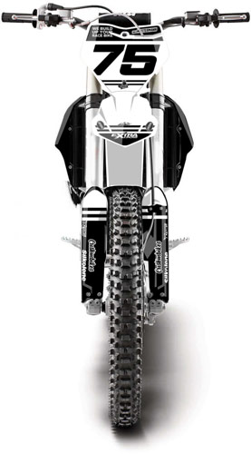 Extracross Dekor Special edition KTM - vorn - Backyard Design