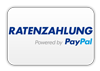 Bezahlung per Ratenzahlung powered by PayPal