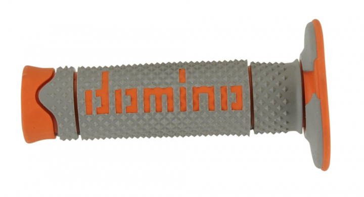 Domino soft grau / orange