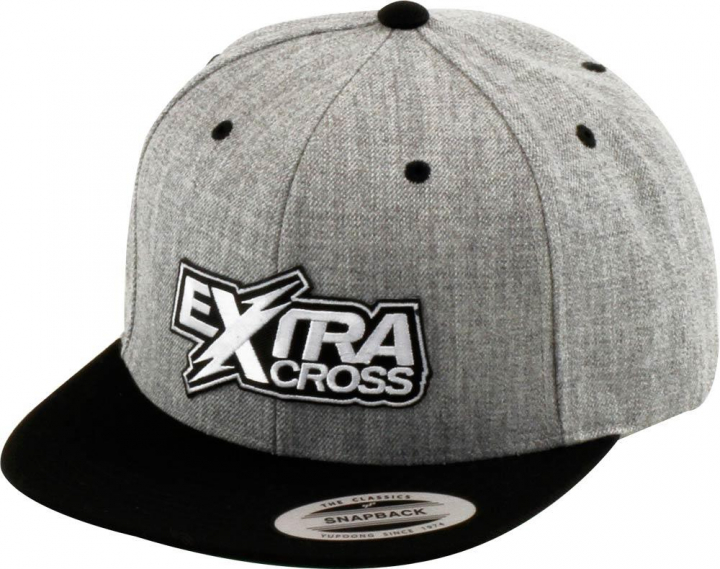 Extracross Snapback Cap Grey-Black