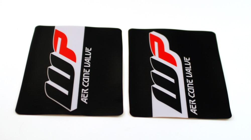 Motocross Shop - Extracross - WP Cone Valve AER fork sticker schwarz