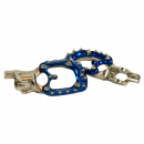 LogicA footpegs TM MX blue